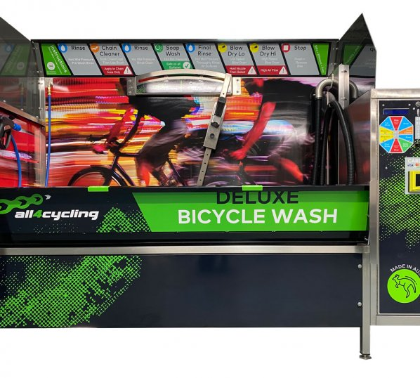 Bike Wash Station